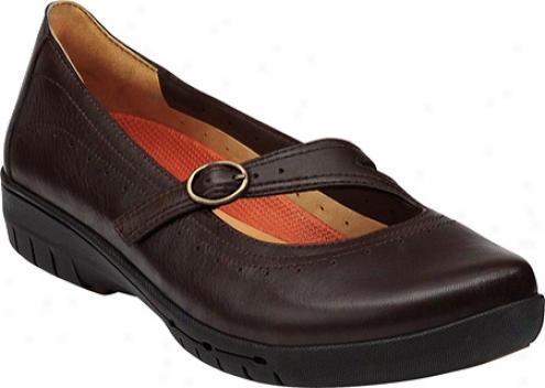 Clarks Un.cap (women's) - Dark Brown Leather