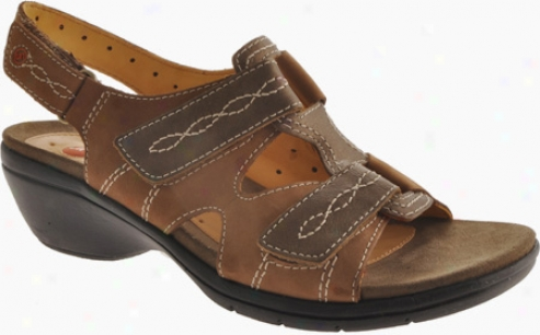 Clarks Un.galley (qomen's) - Smokey Brown Nubuck/antique Brass