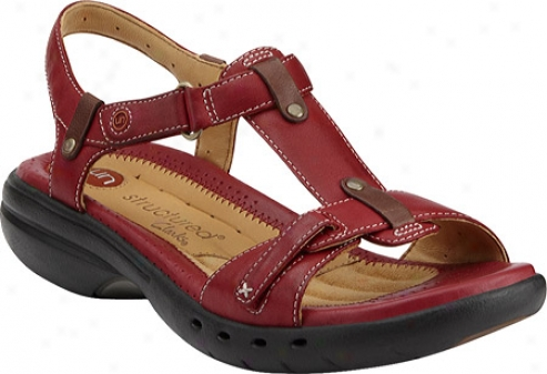 Clarks Un.jib (women's) - Chli Red Leather