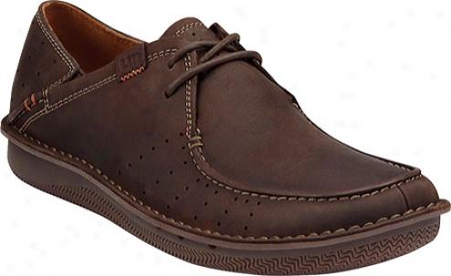 Clarks Un.liverpool (men's) - Brown Nubuck