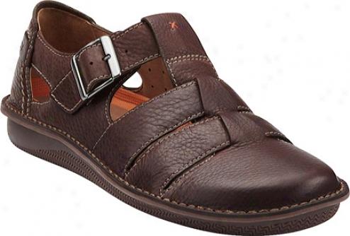 Clarks Un.quarry (men's) - Brown Leather