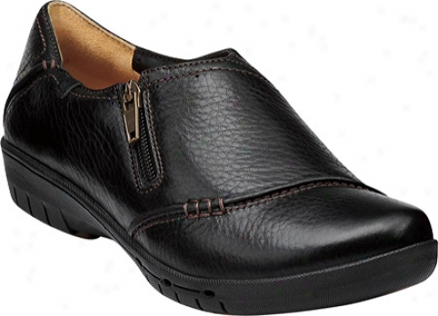 Clarks Un.voice (women's) - Black Leather