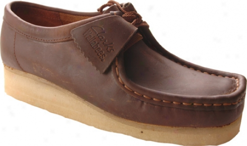 Clarks Wallabee (women's) - Beeswax Leatner