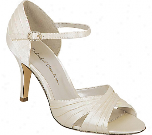 Colorful Creations Brooke (women's) - Ivory Satin