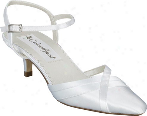 Coloriffics Paula (women's) - Dyeable White Satin