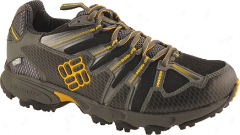 Columbia Talus Ridge Outdry (men's) - Black/spectra Yellow