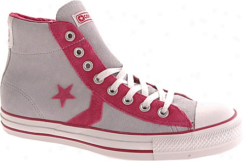 Converse Star Player 75 Ev Mid 112526 (women's) - Pearl Blue/sangria
