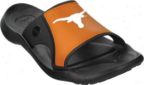 Cr0cs Abf Collegiate Slide Texas (men's) - Black/sienna