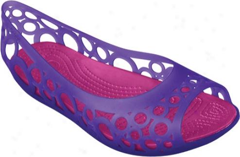 Crocs Adrina Even (women's) - Ultraviolet/berry