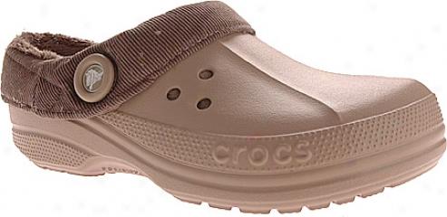 Crocs Blitzen Corduroy - Khaki/chocolate