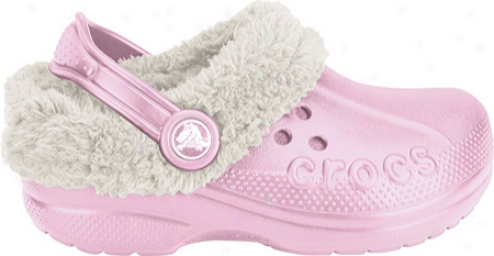 Crocs Blitzen (infants') - Bubblegum/oatmwal