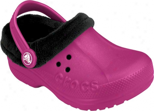 Crocs Blitzen Polar (infants') - Berry/black