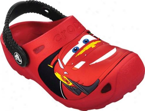 Crocs Cars 2 Custom Clog (infants') - Red/black
