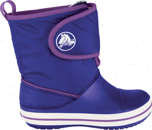 Crocs Crocband Gust Boot (infants') - Ultraviolet/dahlia