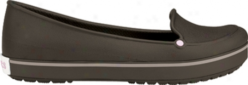 Crocs Crocband Loafer (women's) - Espresso/bubblegum