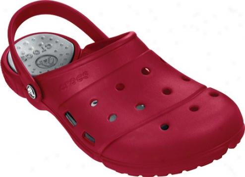Crocs Prepair Ii Clog (men's) - True Red/silver