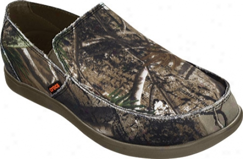 Crocs Santa Cruz Realtree (men's) - Chocolate