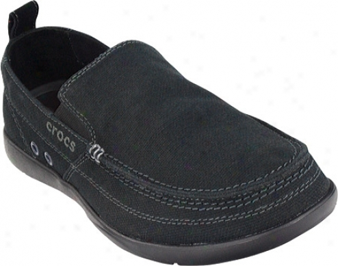 Crocs Walu (men's) - Black/black