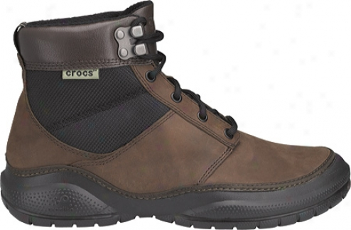 Crocs Yukon Mid (men's) - Espresso/black