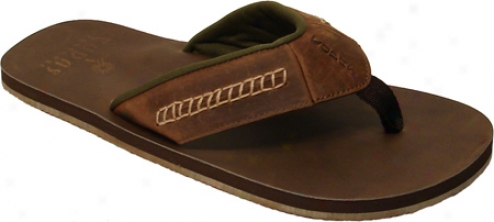 Cudas Moby (men's) - Brown Leather