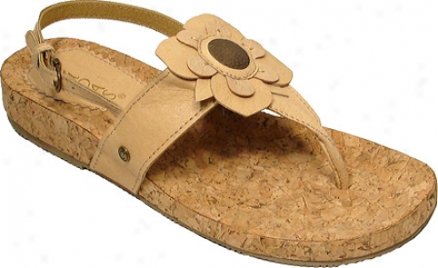 Cudas Rola (women's) - Tan Leather/cork