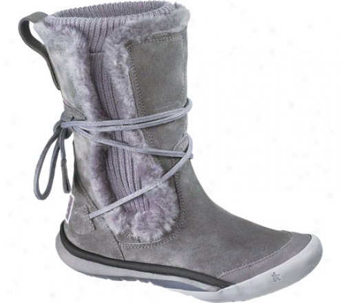 Cushe It Boot Cuff (women's) - Greh/lilac