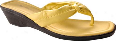 Da Viccino Raso (women's) - Yellow