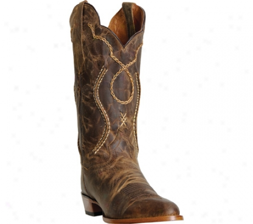 """dan Post Boots Bucklace 13"""" Cat (men's)  -Tan"""