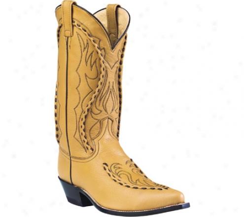 Dan Post Boots Buckstitched Handlaced 13 (men's) - Camel Deertan