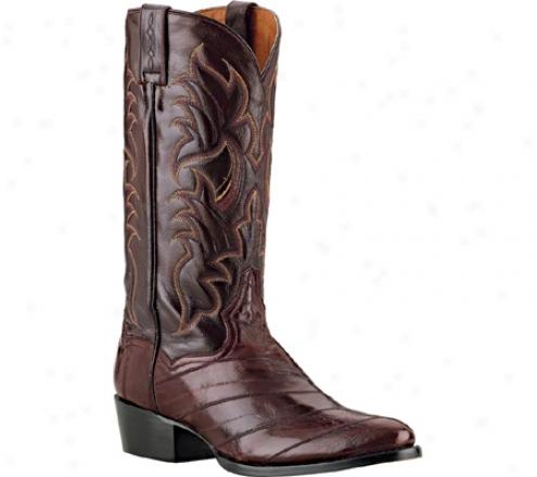 Dan Post Boots Genuine Eel (men's) - Burgundy