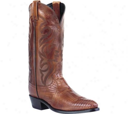Dan Post Boots Teju Lizard J Toe (men's) - Antique Tan