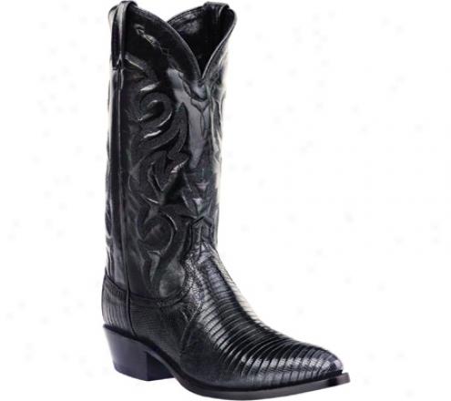 Dan Post Boots Teju Lizard R Toe (men's) - Black