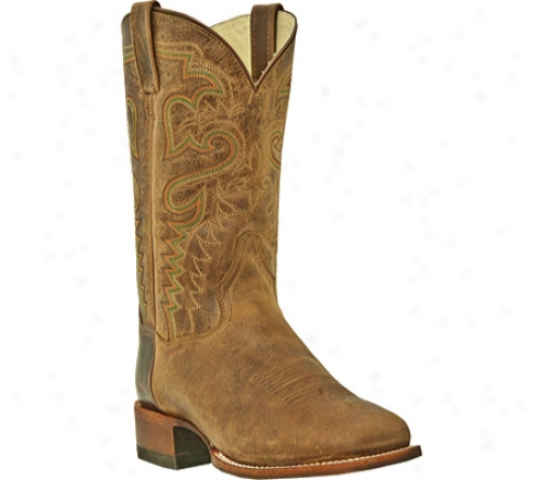 Dan Post Boots Weatherford Dp2705 (men's) - Cognac All Leather Tombstone