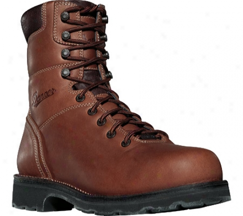 """danner Workman 8"""" Gtx 400g Thinulate Ultra Insulation Pt (men's) - Brown Complete Twentieth part of a scruple Leather"""