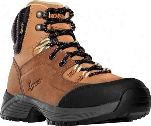 """danner Zigzag Trail 6"""" (women's) - Brown Full Grain Leather/nubuck"""