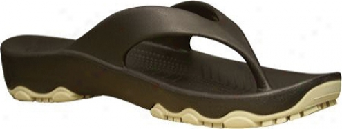 Dawgs Destination Flip Flop (boys')_- Dark Brown/tan