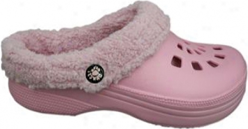 Dawgs Fleece Dawgs (women's) - Soft Pink/soft Pink