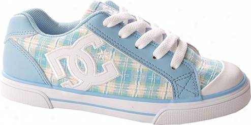 Dc Shoes Chelsea (girls') - White/heritage Blue