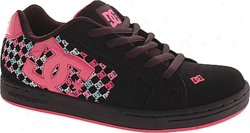 Dc Shoes Net Se (children's) - Black/hot Pink
