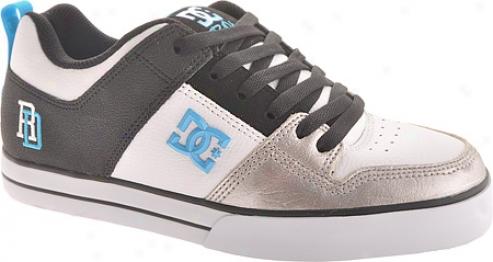 Dc Shoes Rd 1.5 Se (men's) - White/black/turquoise