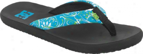 Dc Shoes Seaglass (women's) - Black/turquoise