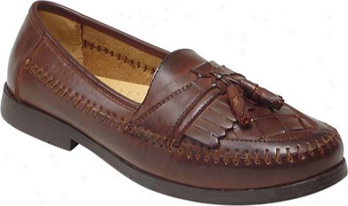 Deer Stags Herman (men's) - Dark Maple Leather/synthetic