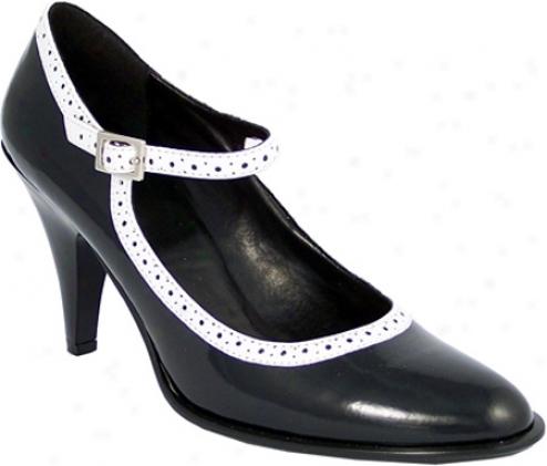 Demonia Betty 01 (women's) - Black Patent