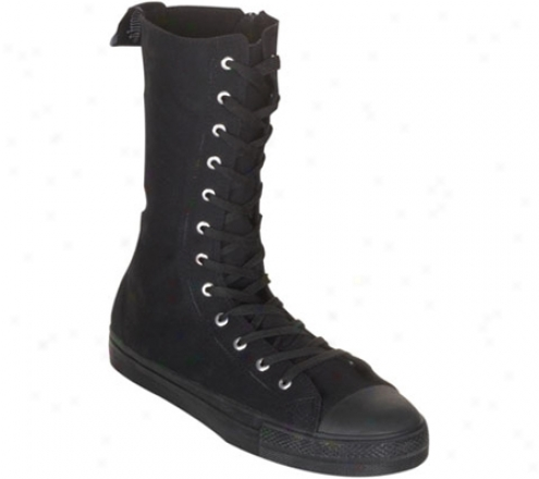 Demonia Deviant 201 (men's) - Blacck Canvas