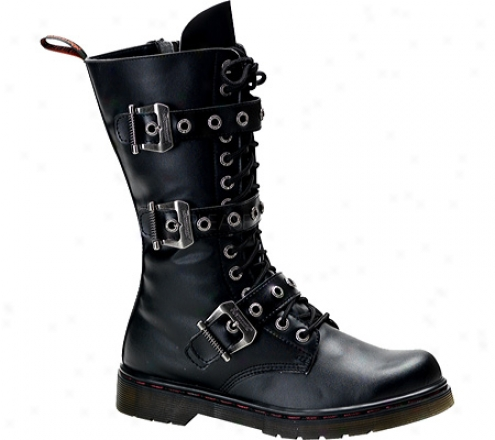 Demonia Disorder 303 (men's) - Black Pu