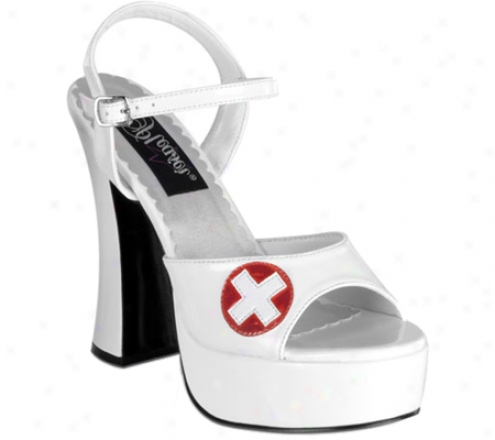 Demonia Dolly 10 (women's) - White Patent