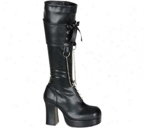 Demonia Gothika 206 (women's) - Black Pu
