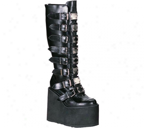 Demonia Swing 815 (women's) - Black Pu
