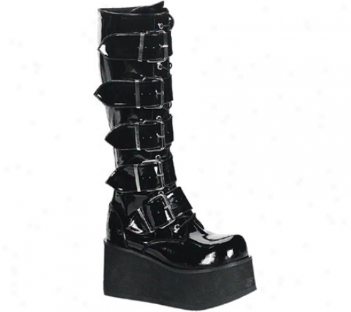 Demonia Trashville 518 (men's) - Mourning Patent