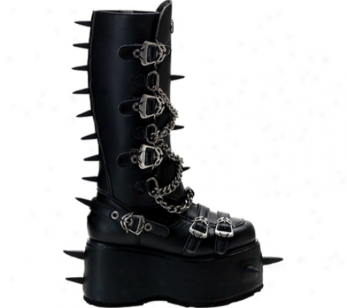 Demonia Wicked 088 (men's) - Black Pu